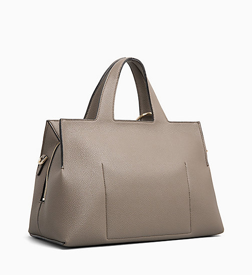 CALVIN KLEIN Medium Tote Bag - ARMY FTGE - CALVIN KLEIN WOMEN - detail image 1