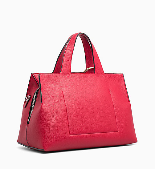 CALVINKLEIN Medium Tote Bag - ROUGE - CALVIN KLEIN NEW IN - detail image 1