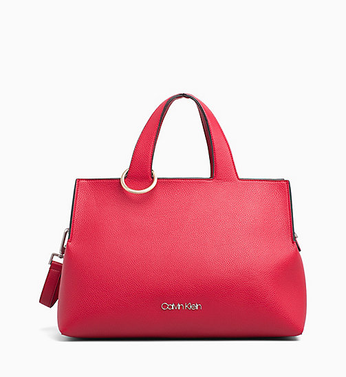 CALVINKLEIN Medium Tote Bag - ROUGE - CALVIN KLEIN NEW IN - main image