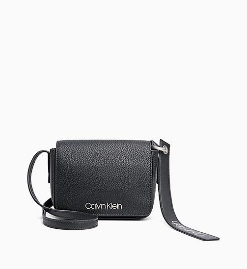 CALVINKLEIN Small Cross Body Bag - BLACK - CALVIN KLEIN NEW IN - main image