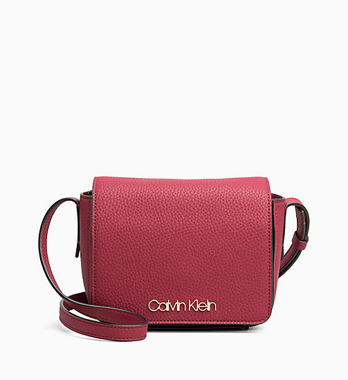 CALVINKLEIN Small Cross Body Bag - RED ROCK - CALVIN KLEIN NEW IN - main image