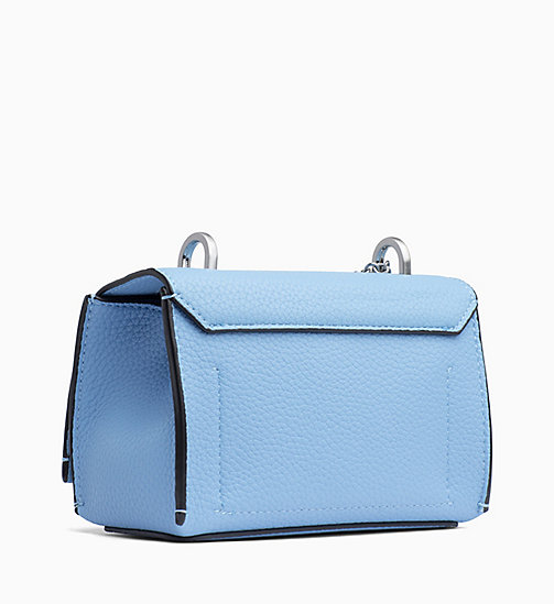 CALVIN KLEIN Small Flap Cross Body Bag - FADED BLUE - CALVIN KLEIN BAGS - detail image 1
