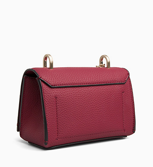 CALVIN KLEIN Small Flap Cross Body Bag - RED ROCK - CALVIN KLEIN BAGS - detail image 1