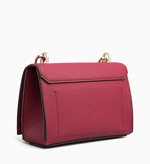 CALVINKLEIN Medium Flap Cross Body Bag - RED ROCK - CALVIN KLEIN CROSSOVER BAGS - detail image 1