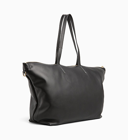 CALVINKLEIN Medium Tote Bag - BLACK - CALVIN KLEIN ALL GIFTS - detail image 1