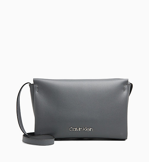 CALVINKLEIN Cross Body Bag - STEEL GREYSTONE - CALVIN KLEIN NEW IN - main image