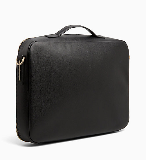 CALVIN KLEIN Laptop Bag - BLACK - CALVIN KLEIN ALL GIFTS - detail image 1