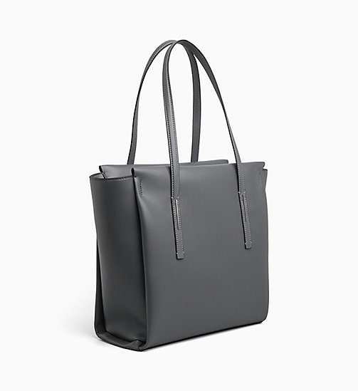 CALVINKLEIN Large Tote Bag - STEEL GREYSTONE - CALVIN KLEIN SHOES & ACCESORIES - detail image 1