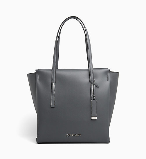 CALVINKLEIN Large Tote Bag - STEEL GREYSTONE - CALVIN KLEIN SHOES & ACCESORIES - main image