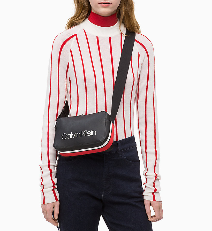 CALVIN KLEIN Small Cross Body Bag - ROUGE - CALVIN KLEIN WOMEN - detail image 3