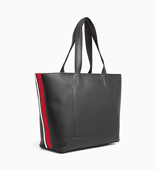 CALVIN KLEIN Large Tote Bag - BLACK - CALVIN KLEIN LOGO SHOP - detail image 1