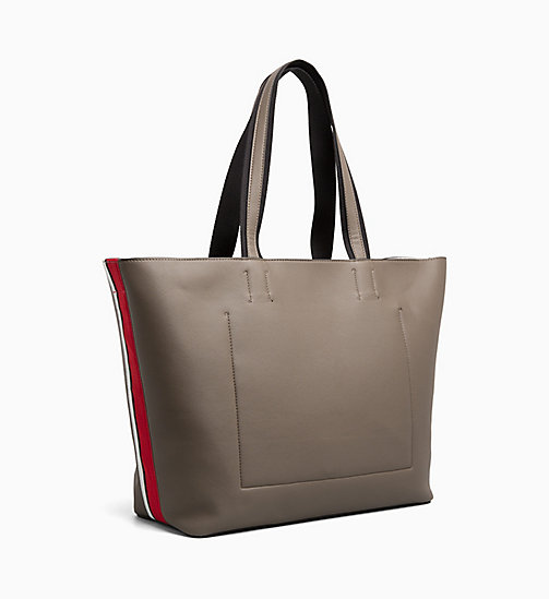 CALVINKLEIN Large Tote Bag - ARMY FTGE - CALVIN KLEIN TOTE BAGS - detail image 1