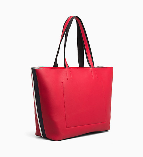 CALVIN KLEIN Large Tote Bag - ROUGE - CALVIN KLEIN ALL GIFTS - detail image 1