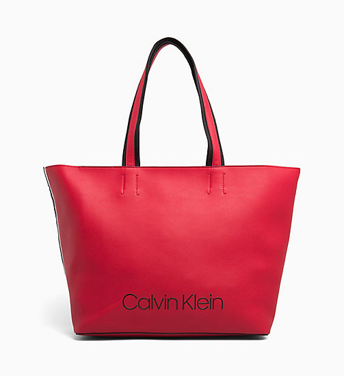 CALVINKLEIN Large Tote Bag - ROUGE - CALVIN KLEIN ALL GIFTS - main image