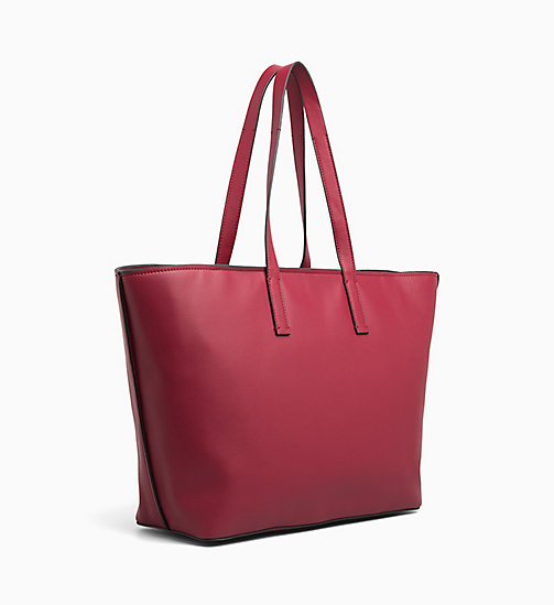CALVIN KLEIN Large Tote Bag - RED ROCK - CALVIN KLEIN BAGS - detail image 1