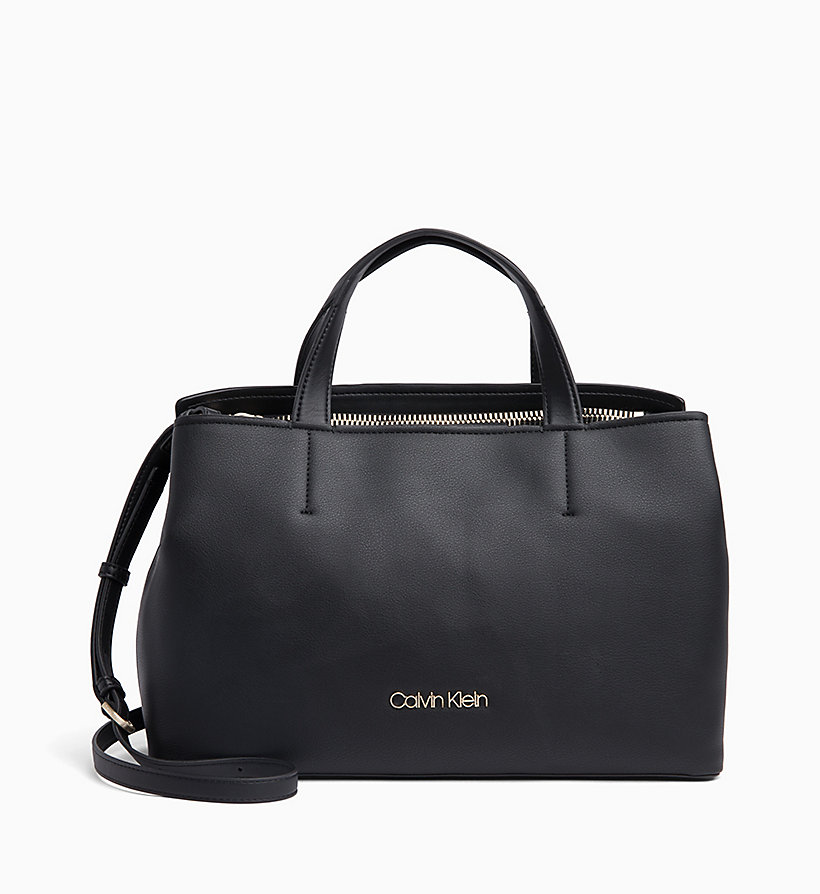 CALVIN KLEIN Medium Tote Bag - STEEL GREYSTONE - CALVIN KLEIN WOMEN - main image