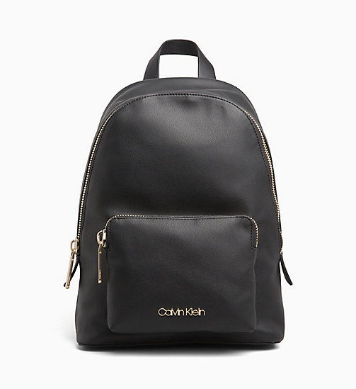 CALVIN KLEIN Backpack - BLACK - CALVIN KLEIN BACKPACKS - main image