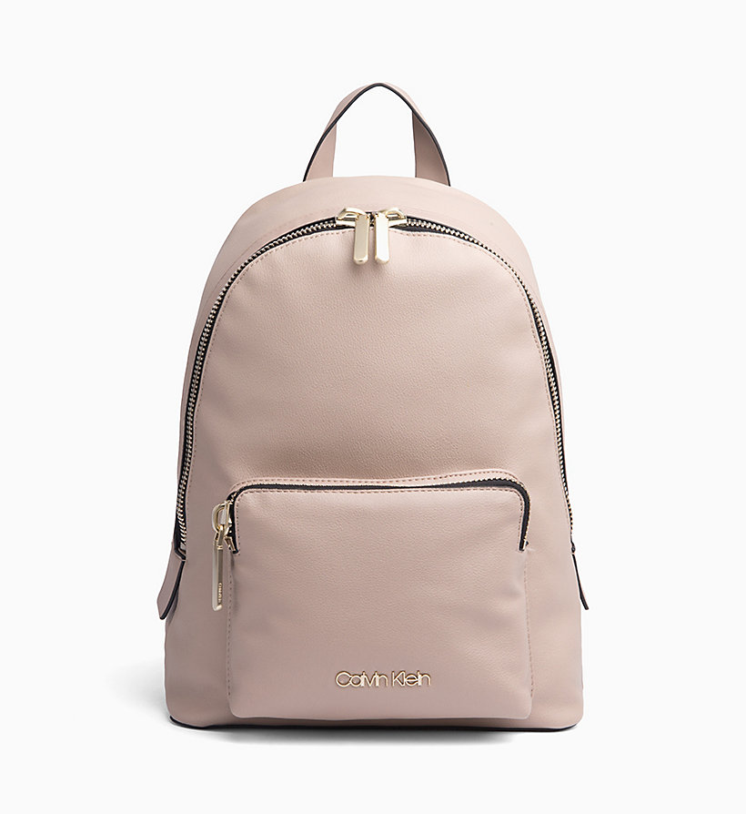 CALVIN KLEIN Backpack - STEEL GREYSTONE - CALVIN KLEIN WOMEN - main image
