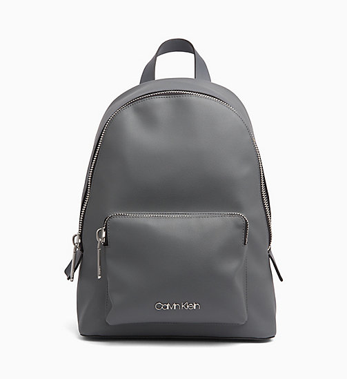 CALVINKLEIN Backpack - STEEL GREYSTONE - CALVIN KLEIN NEW IN - main image