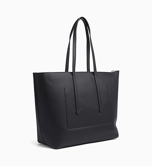 CALVIN KLEIN Medium Tote Bag - BLACK - CALVIN KLEIN BAGS - detail image 1