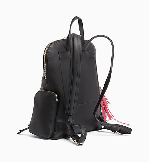 CALVIN KLEIN Domed Backpack - BLACK - CALVIN KLEIN BACKPACKS - detail image 1