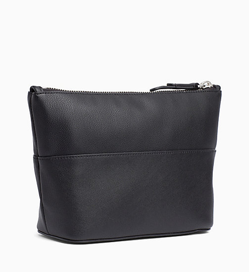 CALVINKLEIN Carryall Clutch - BLACK - CALVIN KLEIN WALLETS & SMALL ACCESSORIES - detail image 1