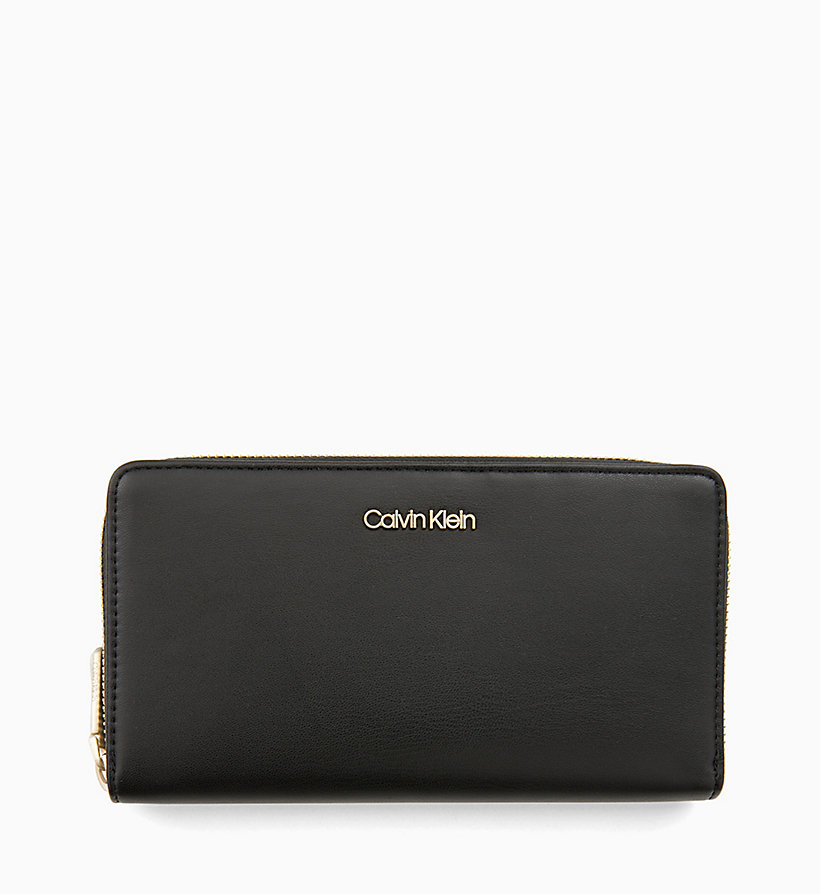CALVINKLEIN Large Zip-Around Wallet - ROSE QUARTZ - CALVIN KLEIN WOMEN - main image