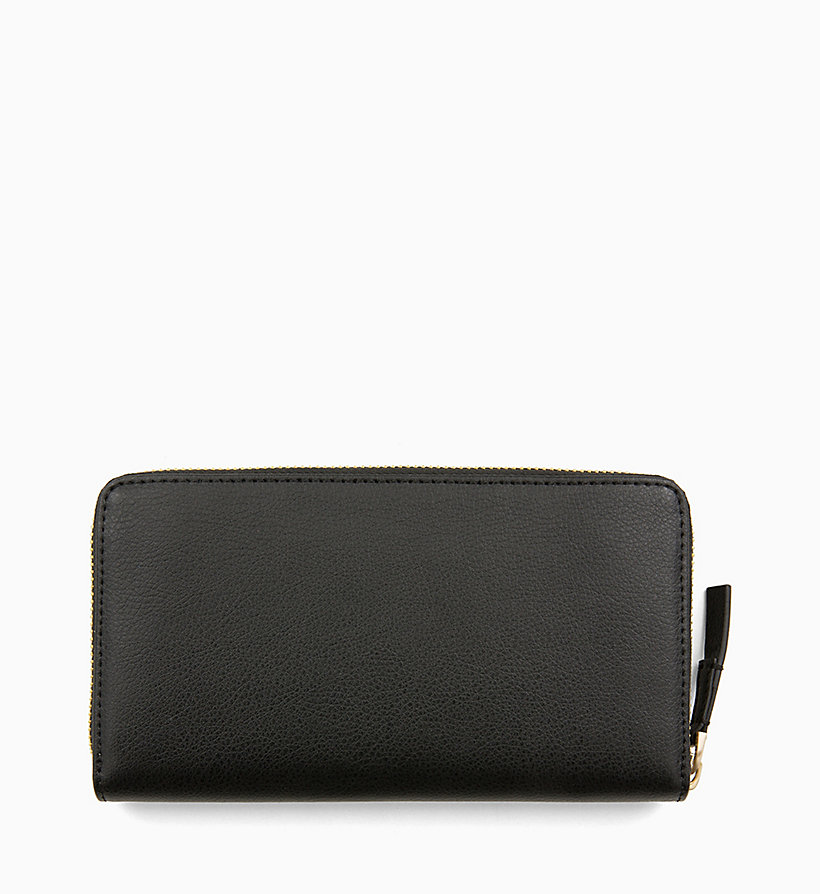 CALVIN KLEIN Large Zip-Around Wallet - TOBACCO - CALVIN KLEIN WOMEN - detail image 1