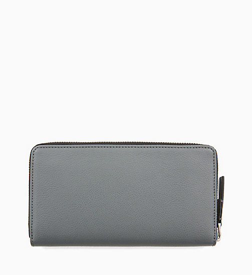 CALVINKLEIN Large Zip-Around Wallet - STEEL GREYSTONE - CALVIN KLEIN SHOES & ACCESORIES - detail image 1