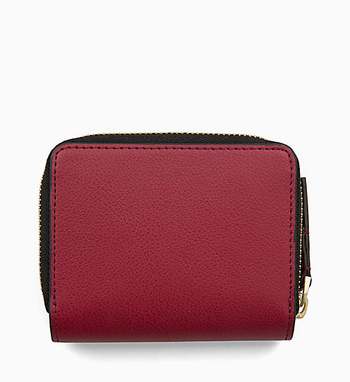 CALVINKLEIN Medium Zip-Around Flap Purse - RED ROCK - CALVIN KLEIN WALLETS & SMALL ACCESSORIES - detail image 1