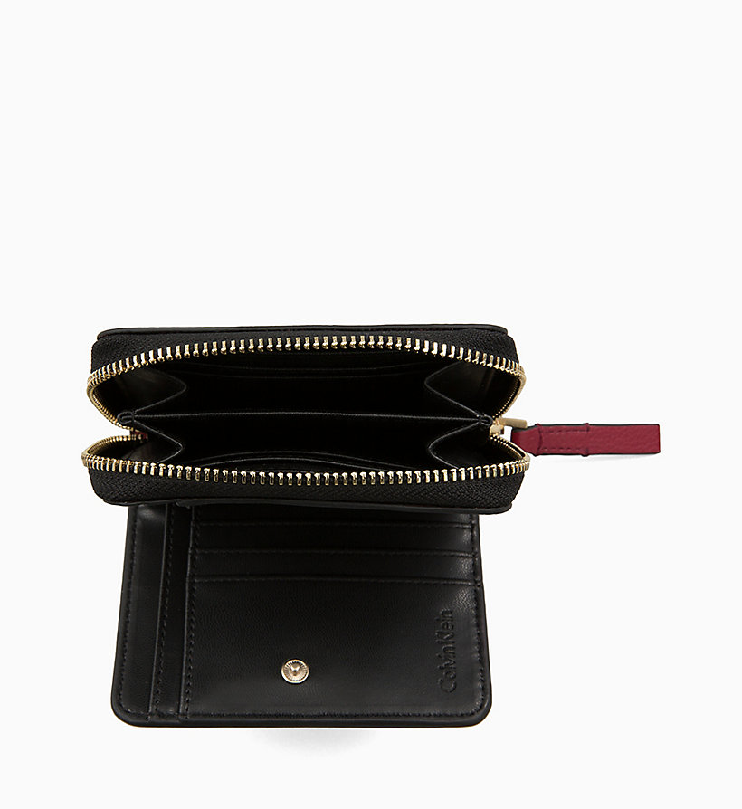 CALVINKLEIN Medium Zip-Around Flap Wallet - PETAL - CALVIN KLEIN WOMEN - detail image 2