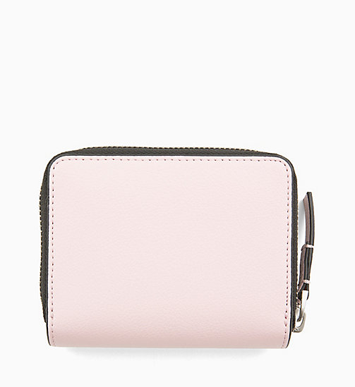 CALVINKLEIN Medium Zip-Around Flap Purse - PETAL - CALVIN KLEIN WALLETS & SMALL ACCESSORIES - detail image 1
