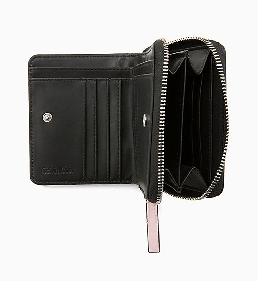 CALVIN KLEIN Medium Zip-Around Flap Wallet - PETAL - CALVIN KLEIN PERFUMES & ACCESSORIES - detail image 1
