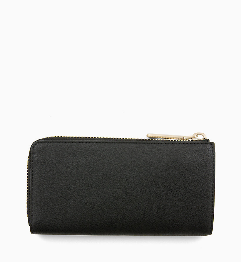CALVINKLEIN Large Zip-Around Purse - STEEL GREYSTONE - CALVIN KLEIN WOMEN - detail image 1