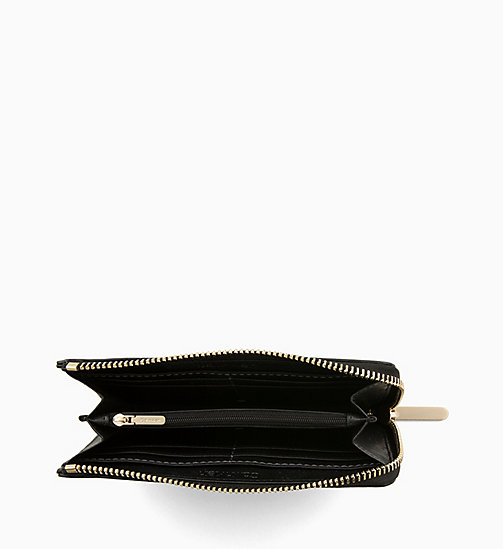 CALVIN KLEIN Large Zip-Around Wallet - BLACK - CALVIN KLEIN PERFUMES & ACCESSORIES - detail image 1