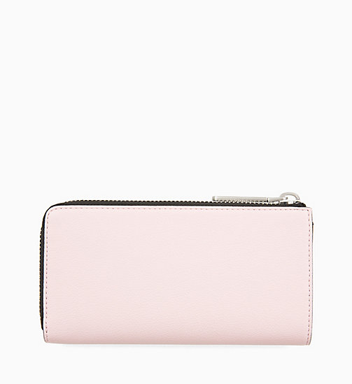 CALVINKLEIN Large Zip-Around Purse - PETAL - CALVIN KLEIN NEW IN - detail image 1
