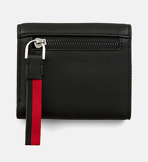 CALVINKLEIN Medium Trifold Purse - BLACK - CALVIN KLEIN WALLETS & SMALL ACCESSORIES - detail image 1