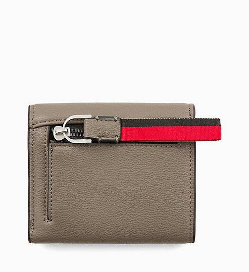 CALVINKLEIN Medium Trifold Purse - ARMY FTGE - CALVIN KLEIN WALLETS & SMALL ACCESSORIES - detail image 1