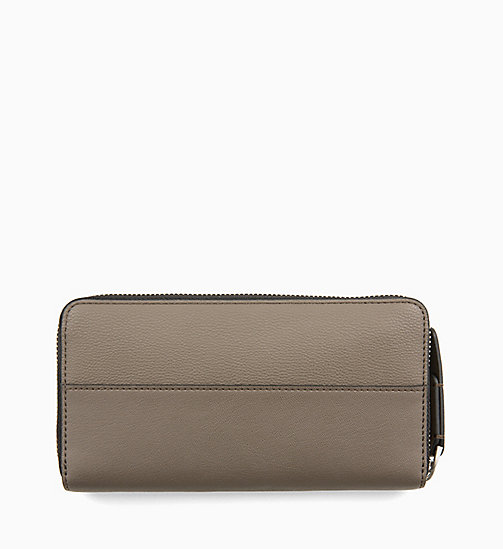CALVINKLEIN Large Zip-Around Purse - ARMY FTGE - CALVIN KLEIN WALLETS & SMALL ACCESSORIES - detail image 1