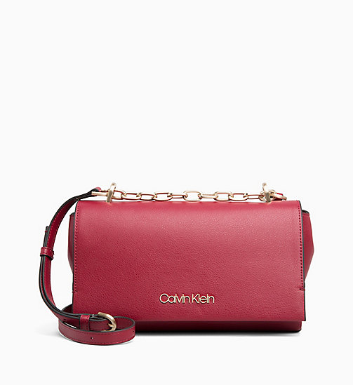 CALVIN KLEIN Cross Body Bag - RED ROCK - CALVIN KLEIN BAGS - main image