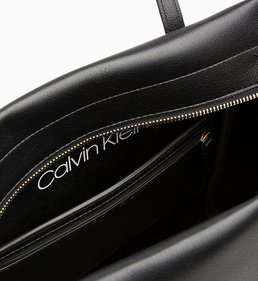 CALVIN KLEIN Medium Tote Bag - STEEL GREYSTONE - CALVIN KLEIN WOMEN - detail image 2