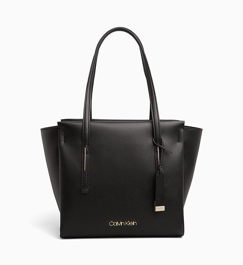 CALVINKLEIN Medium Tote Bag - STEEL GREYSTONE - CALVIN KLEIN WOMEN - main image