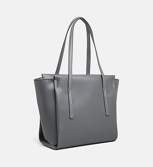 CALVINKLEIN Medium Tote Bag - STEEL GREYSTONE - CALVIN KLEIN NEW IN - detail image 1