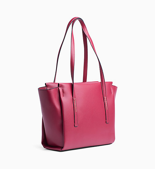CALVINKLEIN Medium Tote Bag - RED ROCK - CALVIN KLEIN BAGS - detail image 1