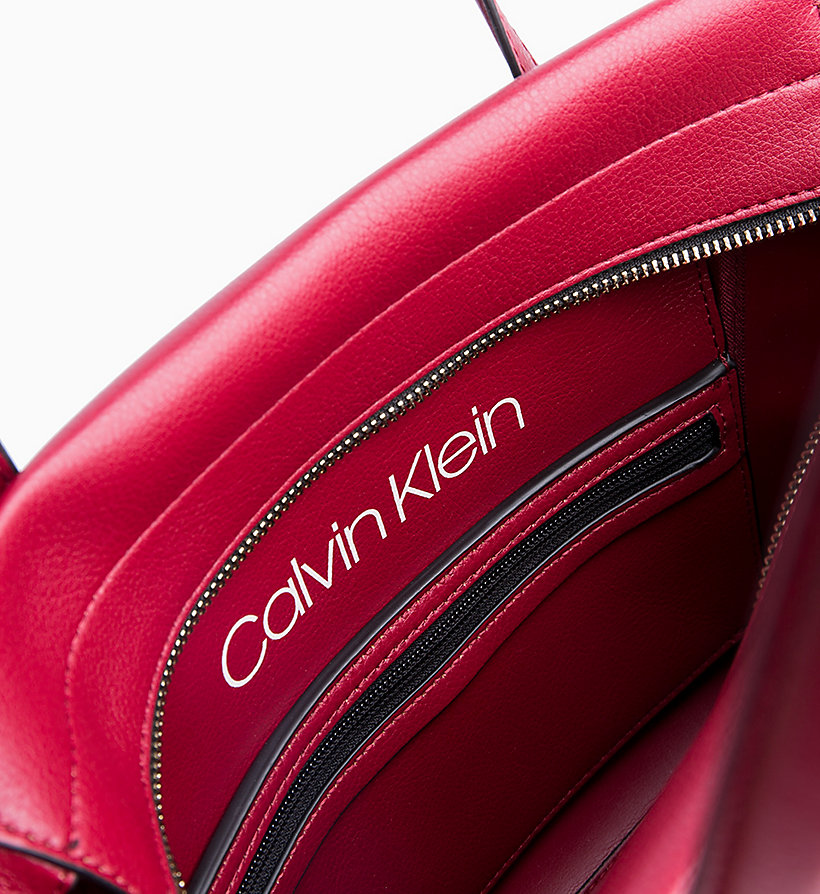 CALVIN KLEIN Medium Tote Bag - BLACK - CALVIN KLEIN WOMEN - detail image 2