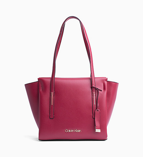 CALVINKLEIN Medium Tote Bag - RED ROCK - CALVIN KLEIN BAGS - main image