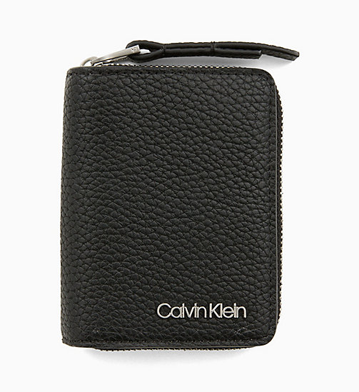 CALVINKLEIN Small Wallet - BLACK - CALVIN KLEIN PERFUMES & ACCESSORIES - main image
