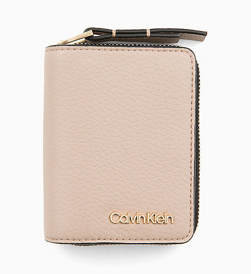 CALVINKLEIN Small Purse - TOBACCO - CALVIN KLEIN WALLETS & SMALL ACCESSORIES - main image