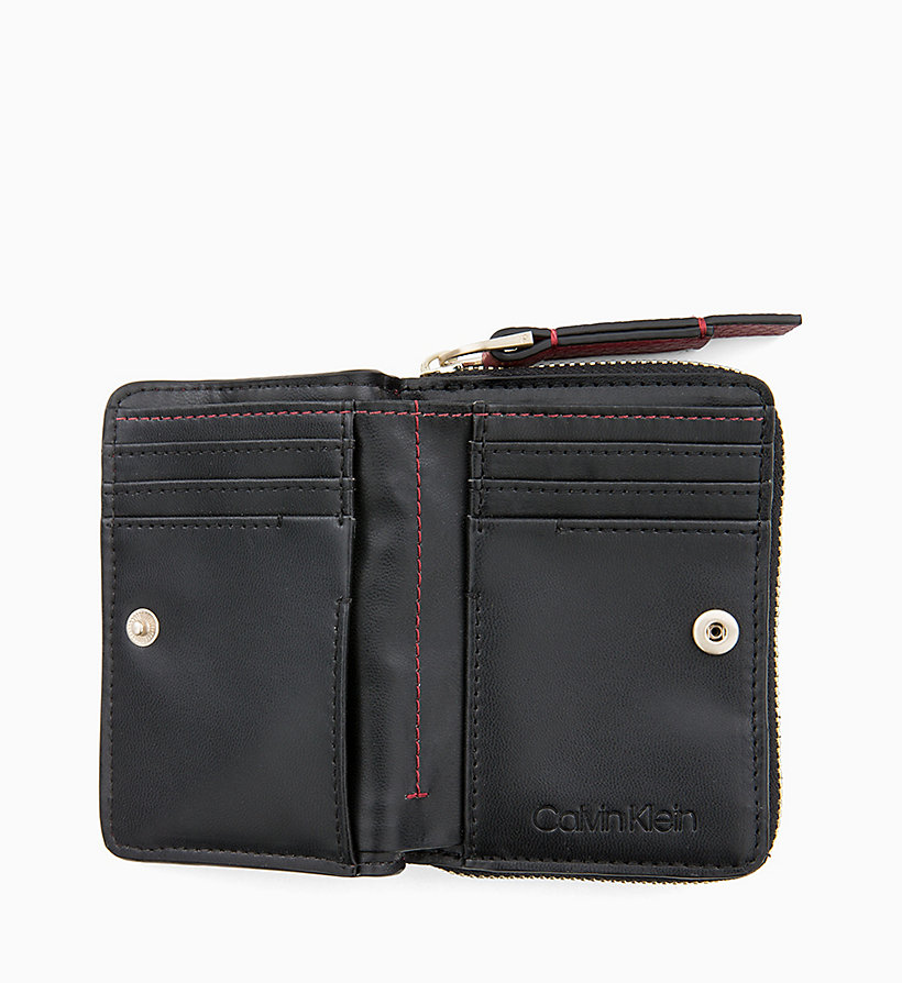 CALVINKLEIN Small Wallet - BLACK - CALVIN KLEIN WOMEN - detail image 1