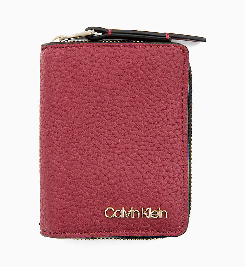CALVINKLEIN Small Wallet - BLACK - CALVIN KLEIN WOMEN - main image